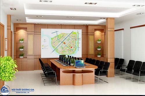Chọn nội thất phù hợp khi thiết kế phòng họp công ty diện tích nhỏ
