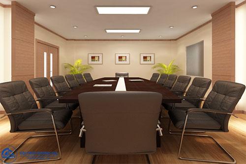 Chú ý tới tiêu chuẩn thiết kế phòng họp nhỏ