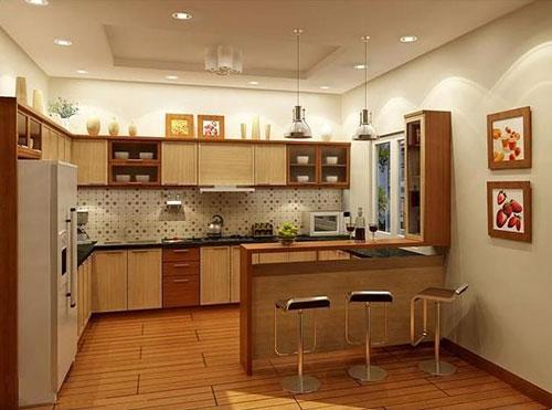 Chú ý về màu sắc căn bếp của gia chủ sinh năm 1990
