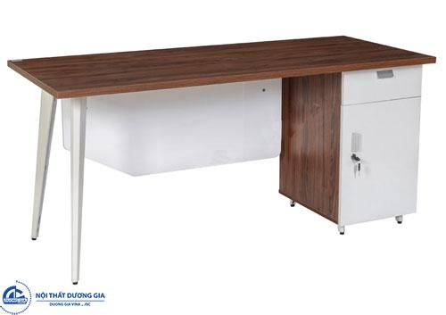 Mẫu bàn văn phòng 1m4 tiện nghiLUX140HLC10