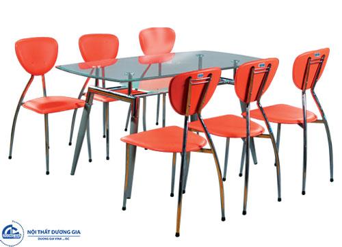 Kích thước bàn ăn hình chữ nhật cho 6 người