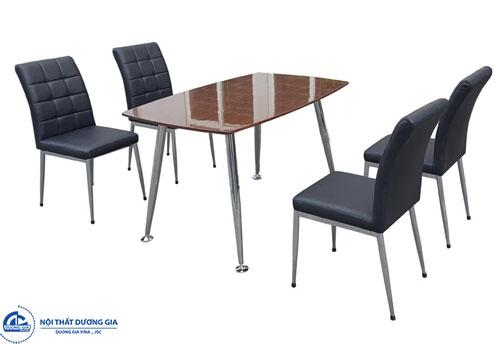 Mua bàn ăn tiêu chuẩn ở đâu giá rẻ, chất lượng? bàn B68, ghế G68