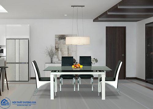 Tại sao cần chú ý tới kích thước chiều cao bàn ăn gia đình? bàn B55, ghế G56