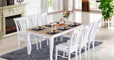 Kích thước chiều cao bàn ăn gia đình tiêu chuẩn là bao nhiêu?