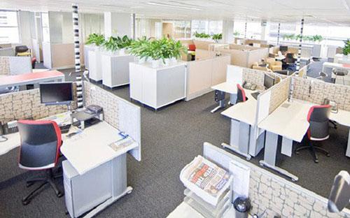 Cách bố trí văn phòng làm việc hiện đại thể hiện tầm vóc của doanh nghiệp
