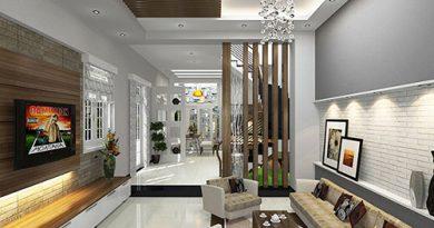 Những chất liệu phổ biến trong nội thất nhà phố theo phong cách hiện đại
