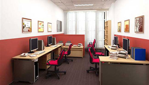 Trang trí, thiết kế văn phòng 20m2 phù hợp