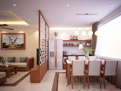 Tại sao nên sử dụng vách ngăn phòng khách và phòng ăn trong gia đình?