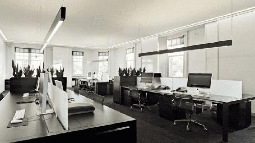 Trang trí mẫu văn phòng nhỏ đẹp ấn tượng