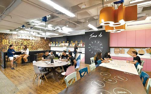 Bật mí cách thiết kế mô hình coworking space tại Hà Nội chuyên nghiệp