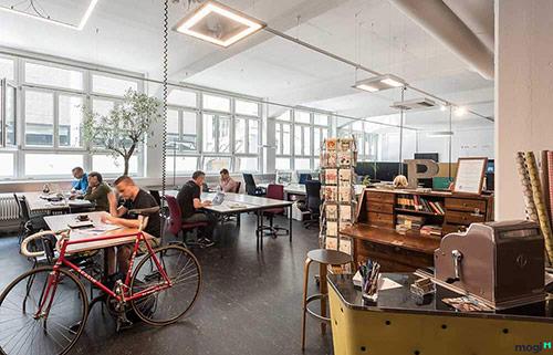 Cách thiết kế mô hình văn phòng chia sẻ Hà Nội