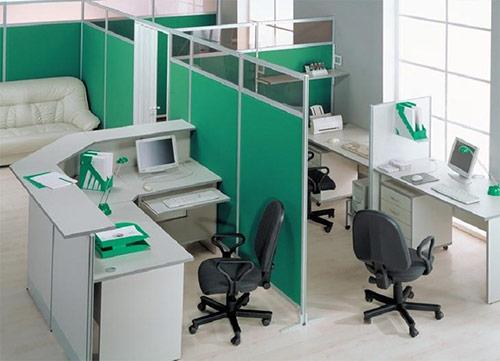 Thiết kế, thi công vách ngăn nỉ văn phòng giá rẻ