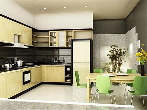 Tại sao cần chú ý tới cách trang trí phòng bếp nhỏ