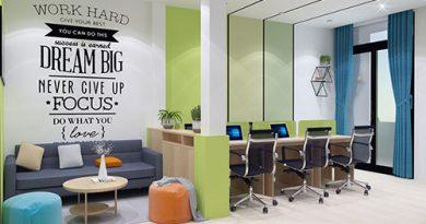 Tư vấn cách thiết kế văn phòng 30m2 thông thoáng, tiện nghi