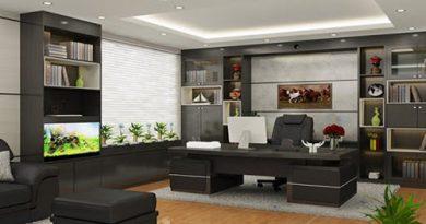 Làm thế nào để thiết kế nội thất phòng Giám đốc tiện nghi, đẳng cấp?