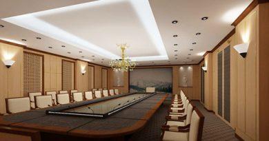 Những tiêu chuẩn thiết kế phòng họp lớn mà bạn không thể bỏ qua
