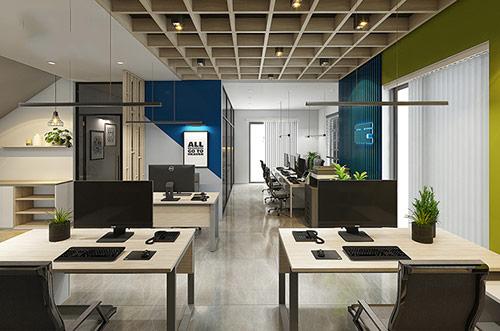 Công ty thiết kế văn phòng 60m2 uy tín