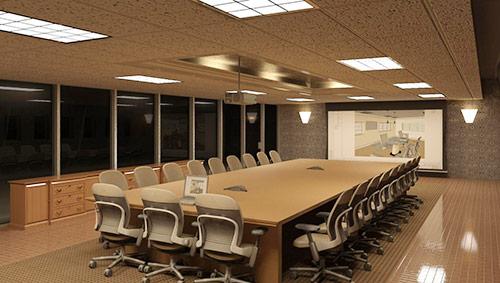 Tiêu chuẩn thiết kế phòng họp lớn: Sự sang trọng, đẳng cấp