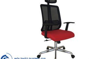 5 mẫu ghế văn phòng chân xoay thiết kế đẹp, tiện nghi nhất