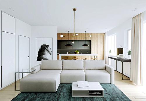 Phòng khách tối giản đẹp