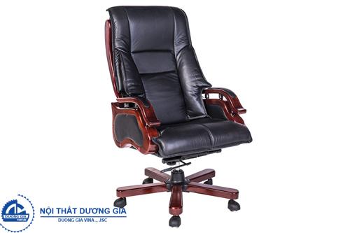 Những ưu điểm nổi bật của ghế văn phòng da