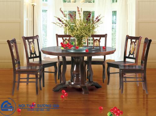 Ghế ngồi phòng ăn bằng gỗ