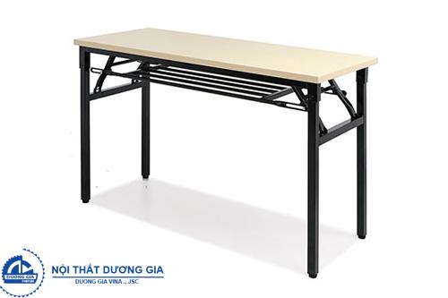 Điểm danh các mẫu bàn văn phòng gấp gọn thiết kế đẹp, hiện đại